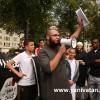 BRÜKSEL'DE ARAKAN MÜSLÜMANLARI'NA YAPILAN ZULÜM PROTESTO EDİLDİ