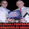 BELÇİKALI PROFESÖR'E FAHRİ HEMŞEHRİLİK BERATI