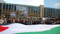 BRÜKSEL SOKAKLARINDA İSRAİL PROTESTO EDİLDİ