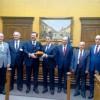 HISARCIKLIOĞLU BAŞKAN KIR'I ZİYARET ETTİ
