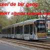 BRÜKSEL'DE TRAMVAY YAYAYA ÇARPTI:1 ÖLÜ