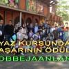 YAZ KURSUNDA BAŞARININ ÖDÜLÜ 'BOBBEJAANLAND' OLDU