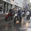 MOTOSİKLETLİLERDEN BRÜKSEL'DE PROTESTO SÜRÜŞÜ