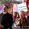 BRÜKSEL'DE SÖZDE PONTUS SOYKIRIMI PROTESTOSU