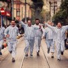 TÜRKİYE'Yİ GÜLDÜREN 'PİJAMALI ADAMLAR BRÜKSEL'E KOŞUYOR