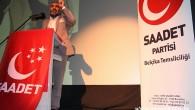 BELÇİKA'DAKİ SAADET'LİLERDEN ERBAKAN'A VEFA
