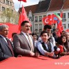 SÖZDE SOYKIRIM ANITI DİKME KARARINA PROTESTO