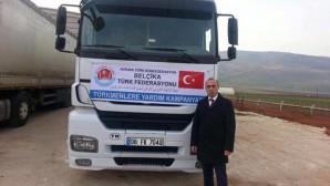 AVRUPA'DAKİ TÜRKLER SURİYE'DEKİ TÜRKMENLERİ UNUTMADI