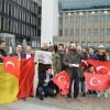 BELÇİKA'DA ERDOĞAN'A İFTİRA ATAN GAZETE PROTESTO EDİLDİ