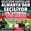 GELECEĞİN KARTALLARI ALMANYA'DA SEÇİLİYOR