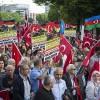 ALMANYA'DA ERMENİ İDDİALARI OYLAMASI PROTESTO EDİLDİ