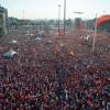 'CUMHURİYET VE DEMOKRASİ MİTİNGİ'NDE DARBELER LANETLENDİ
