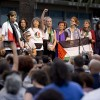 Kadınlar, Gazze'ye ablukayı delmek için Barcelona'dan yola çıktı