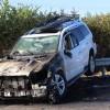 Gurbetçi aile Edirne'de kaza yaptı