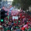 "Brüksel'de ""kemer sıkma"" protestosu"