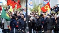 Terör örgütü PKK yandaşları, Brüksel'de yürüdü