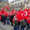 Lüksemburg'da 'Teröre Lanet Demokrasiye Davet' gösterisi