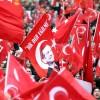 """Avrupa'da """"Teröre Lanet Demokrasiye Davet"""" mitingleri devam ediyor"""