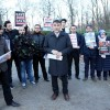 Suriye'nin Brüksel Büyükelçiliği'ne siyah çelenk bıraktılar