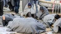 Yunanistan'daki sığınmacılar zor durumda