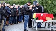 Terör kurbanı Kerim Akyıl, Belçika'da defnedildi