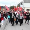 """Belçika'nın """"Türk köyü""""nde kırmızı beyaza büründü"""