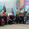 """""""Hocalı'ya Adalet"""" için Brüksel'de gösteri yaptılar"""