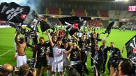 Beşiktaş'ta şampiyonluk coşkusu