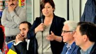 Meryem Almacı, Beringen'de vatandaşların sorunlarını dinledi
