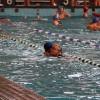 Kahraman baba havuzda boğulan oğlunu kurtardı