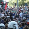 Hamburg'daki şiddet olaylarında 213 polis yaralandı