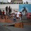 İtalyan gençler ablukayı kırmak için Gazze'de