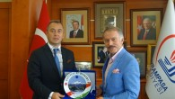 Fahri Konsolos Şahbaz'dan Başkan Aydıner'e Ziyaret