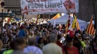 Katalonya'da bağımsızlık yanlısı gösteri