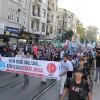 """İstanbul'da """"Kerkük Türk'tür Türk Kalacak"""" yürüyüşü"""
