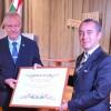 Macaristan'dan Osman Şahbaz'a büyük ödül