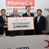 UETD'den Arakan'a 3 milyonluk yardım