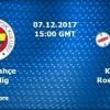 Fenerbahçe'nin konuğu Knack Roeselare