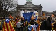 Katalanlardan Brüksel'de gövde gösterisi