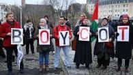 Brüksel'de Kudüs protestosu