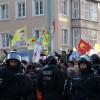 Almanya'da yasa dışı PKK yürüyüşü durduruldu