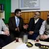 Hollanda'da saldırıya uğrayan camiye Denk Partisinden ziyaret