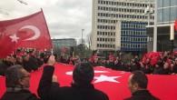 Brüksel'de Zeytin Dalı Harekatına destek