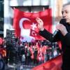 Brüksel'de Zeytin Dalı Harekatına destek mitingi