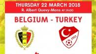 Genç milliler, Belçika ile hazırlık maçları yapacak