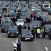 """Belçika'da """"Uber"""" protestosu"""