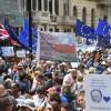 Brexit Londra'da protesto edildi