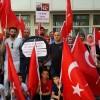 FETÖ'cülere sığınma hakkı veren Yunanistan Almanya'da protesto edildi