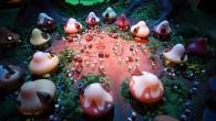 Brüksel'de kurulan Şirinler Köyü ziyarete açıldı