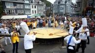 Belçika'da 10 bin yumurtalı dev omlet